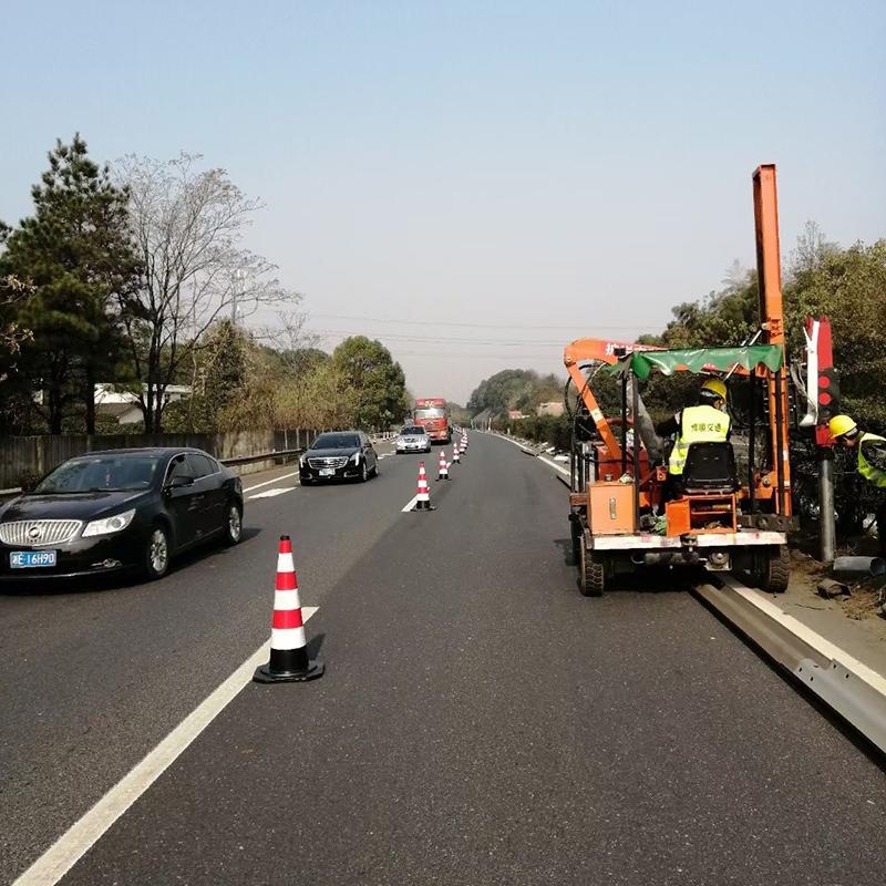 湖南株洲公路打桩机施工案例